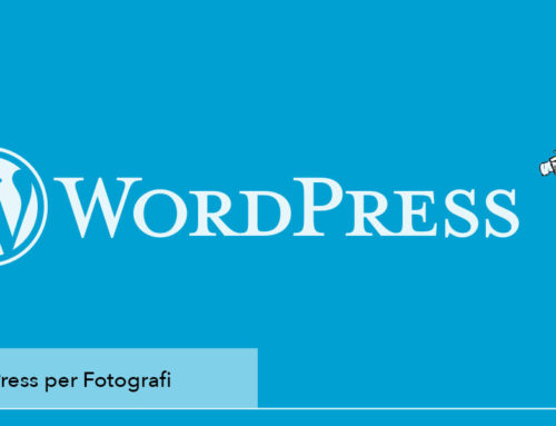 WordPress per fotografi