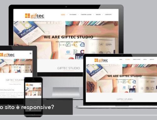 Il vostro sito web è responsive?